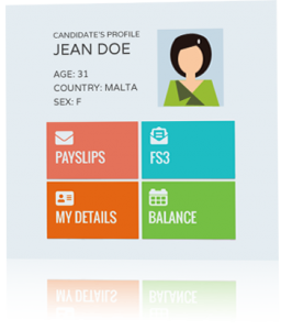 dakar software systems' employee portal