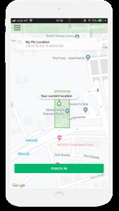 dakar geo punch app