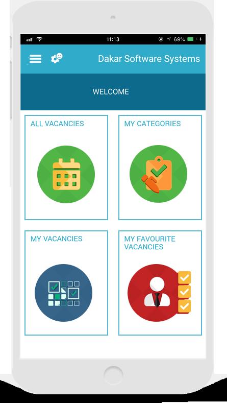 Dakar software Recruitment Notification App